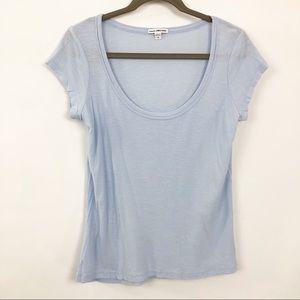 James Perse Standard Tshirt Size 4 (XL) ScoopNeck